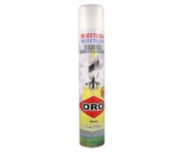 Oferta de Insecticida para moscas y mosquitos sin olor spray ORO 750 ml. por 2€