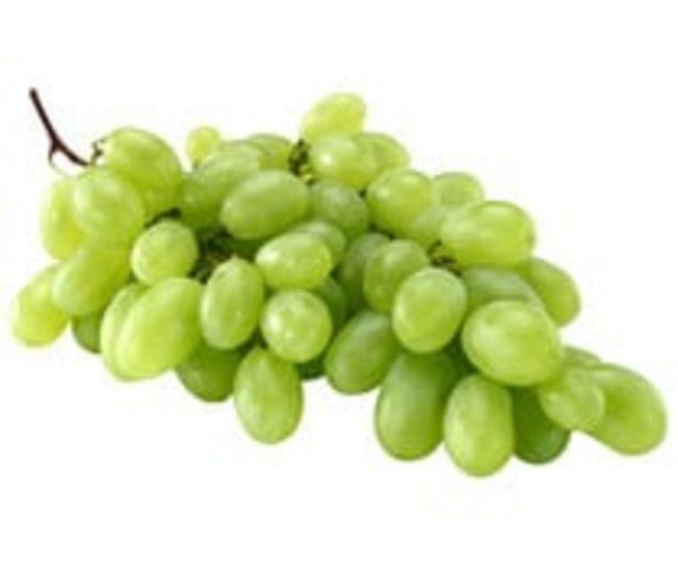 Oferta de Uvas blancas sin pepitas ALCAMPO PRODUCCIÓN CONTROLADA 500 g. por 1,49€