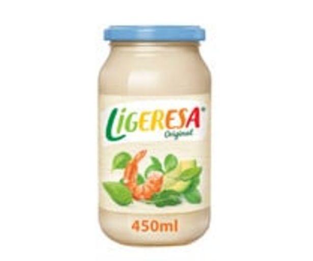 Oferta de Salsa ligera LIGERESA 450 ml. por 1,69€