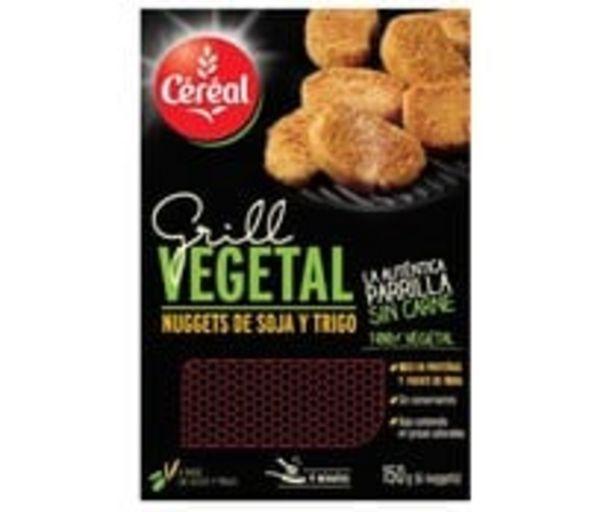 Oferta de Nuggets de soja y trigo 100% vegetal CÉRÉAL BIO 150 g. por 2,49€