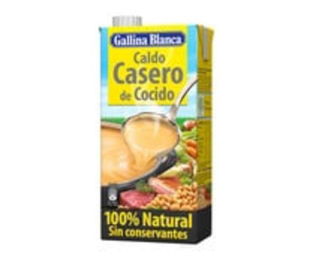 Oferta de Caldo casero de cocido 100% natural GALLINA BLANCA brik de 1 l por 1,69€