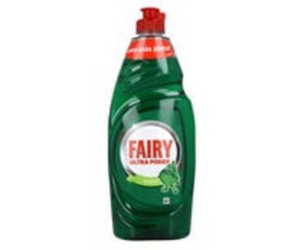 Oferta de Detergente lavavajillas Ultra Poder FAIRY 650 ml. por 2,65€