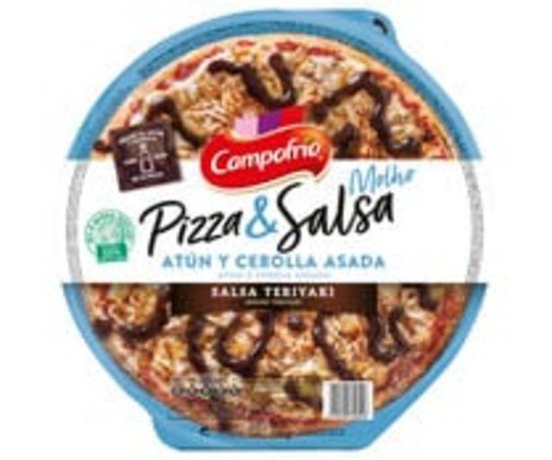 Oferta de Pizza fresca de atún y cebolla caramelizada con salsa Teriyaki CAMPOFRÍO 360 g. por 1,99€