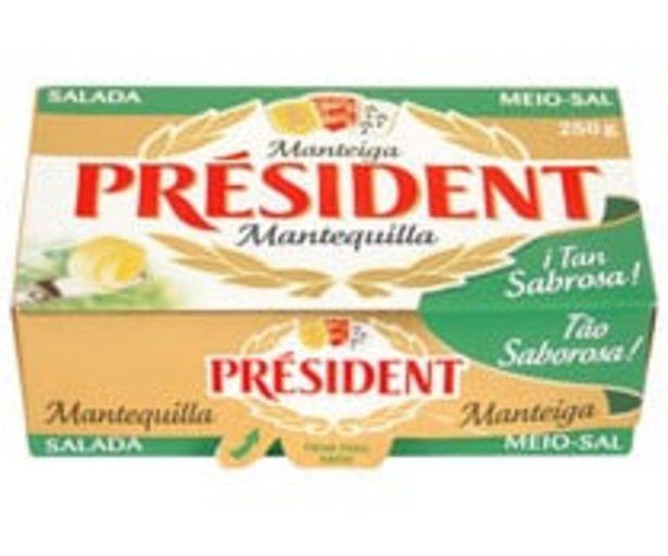Oferta de Pastilla de mantequilla con sal PRESIDENT 250 g. por 2,97€