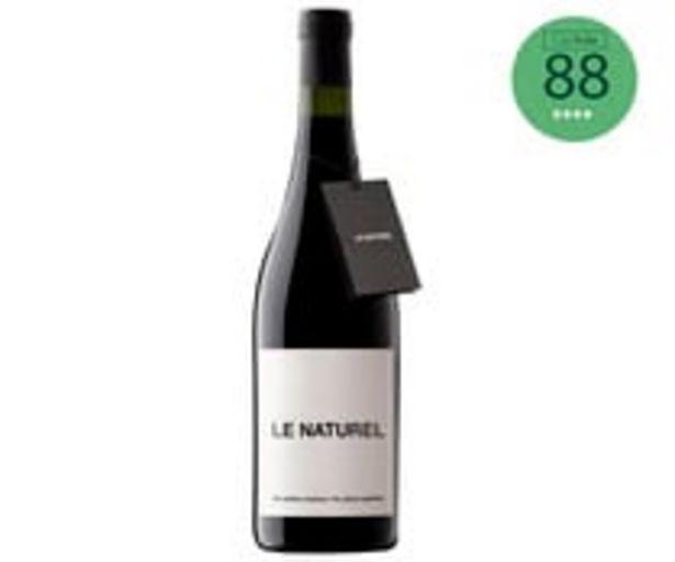 Oferta de Vino tinto ecológico con denominación de origen Navarra LE NATUREL botella de 75 cl. por 6,95€