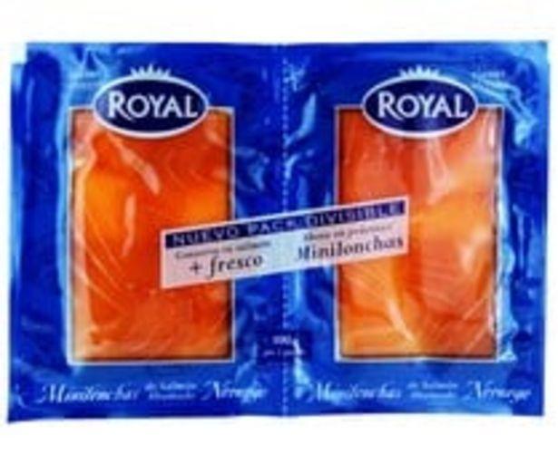 Oferta de Salmón ahumado noruego ROYAL 50 g. pack de 2 uds por 4,78€