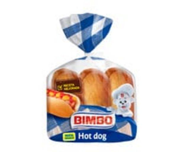Oferta de Pan para perritos calientes (Hot Dog) BIMBO 6 uds. 330 g. por 1,08€