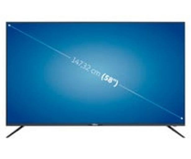 """Oferta de Televisión 147,32 cm (58"""") LED QILIVE 58UA211B 4K, SMART TV, WIFI, TDT T2, USB reproductor, 3HDMI, 60HZ. por 459€"""