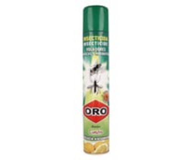 Oferta de Spray para matar mosquitos y moscas ORO 750 ml. por 2,95€
