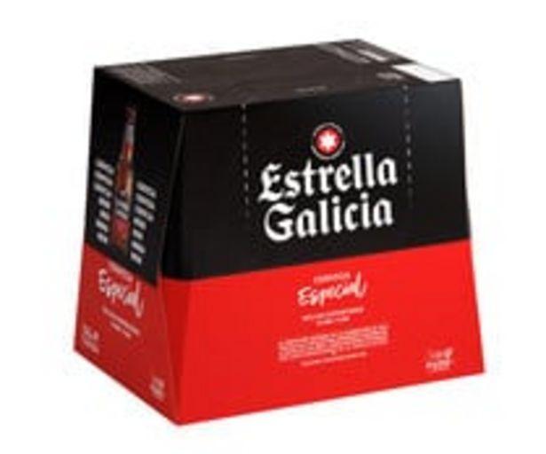 Oferta de Cervezas ESTRELLA GALICIA  ESPECIAL ESPECIAL pack 12 uds. x 25 cl por 5,68€