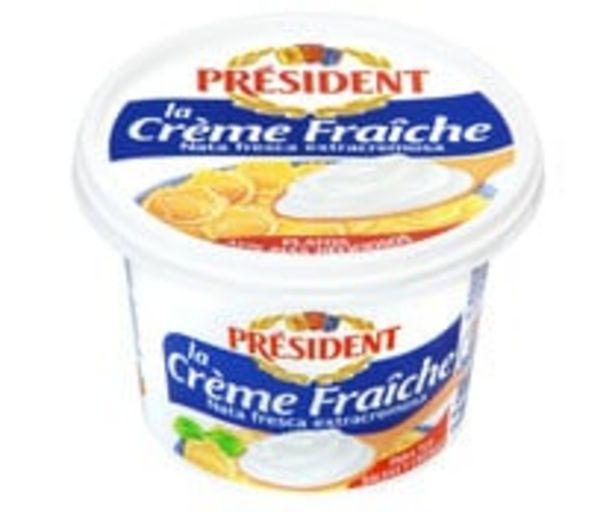 Oferta de Tarrina de nata fresca para cocinar PRESIDENT 200 ml. por 1,79€