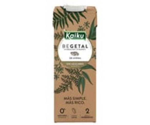 Oferta de Bebida de avena sin azúcares añadidos KAIKU BEGETAL 1 l. por 1,5€