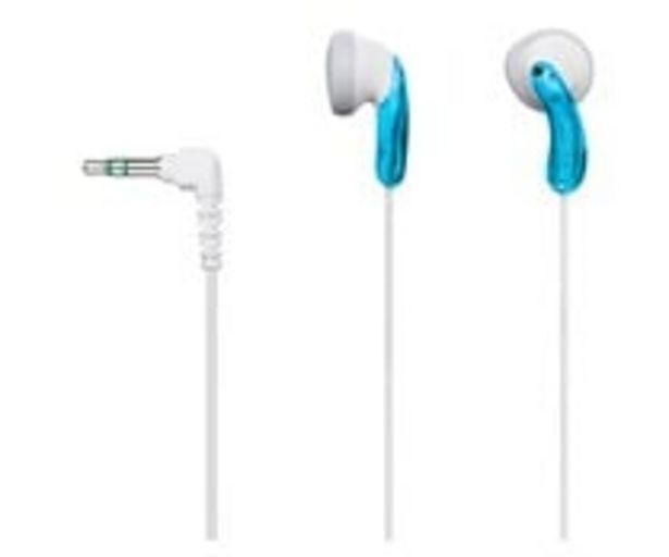 Oferta de Auricular intrauditivo SONY MDRE9LPL.AE con cable, color azul. por 7,7€