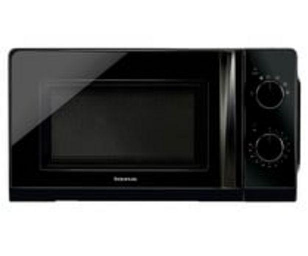 Oferta de Microondas TAURUS Ready Black,  capacidad 20L, potencia: 700W. por 62,9€