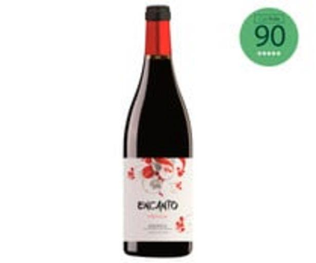Oferta de Vino tinto con denominación de origen Bierzo ENCANTO botella de 75 cl. por 2,99€