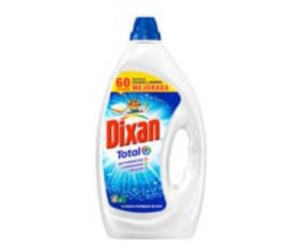 Oferta de Detergente  en gel azul para lavadora DIXAN 60 ds. por 13,77€