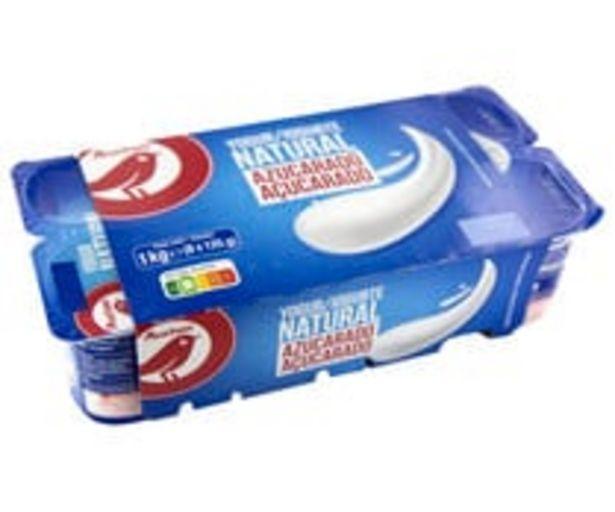 Oferta de Yogur  natural azucarado PRODUCTO ALCAMPO 8 x 125 g. por 0,89€