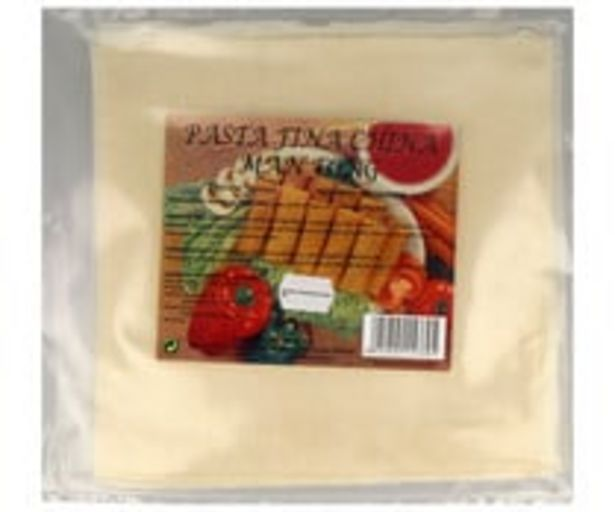 Oferta de Pasta fina china, ideal para elaborar rollitos de primavera MANFONG 10 uds. por 1,09€