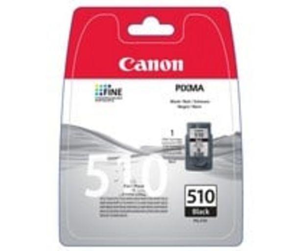 Oferta de Cartucho de tinta CANON PG-510 negro. por 16,3€