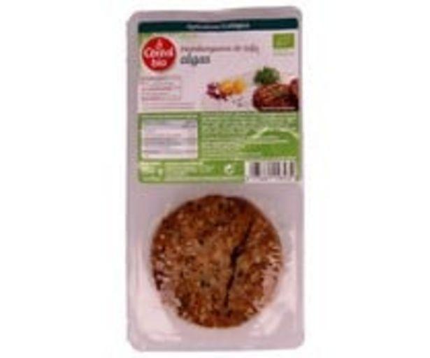 Oferta de Burguer de tofu con algas  ecológicasCÉRÉAL BIO 2 hamburguesas, 150 g. por 3,05€