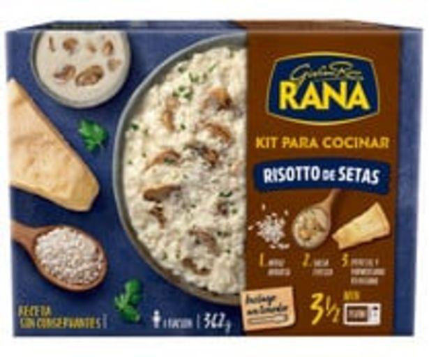 Oferta de Rissotto de setas listo para calentar y comer RANA 362 g. por 3,25€