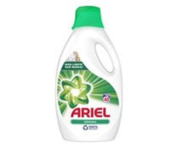 Oferta de Detergente líquido Original ARIEL 40 lav. 2,2 l. por 12,17€