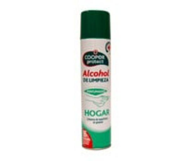 Oferta de Alcohol de limpieza de superficies del hogar perfumado COOPER PROTECT 300 ml. por 1,68€