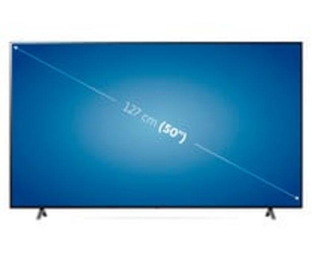 """Oferta de Televisión 127 cm (50"""") LED LG 50NANO756 4K, HDR 10 PRO, SMART TV, WIFI, BLUETOOTH, TDT T2, USB reproductor y grabador, 3HDMI, 2300HZ. por 645€"""