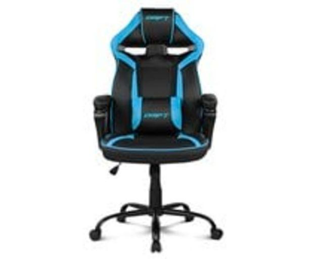 Oferta de Silla Gaming DRIFT DR50BR negro y azul, DRIFT. por 109,9€