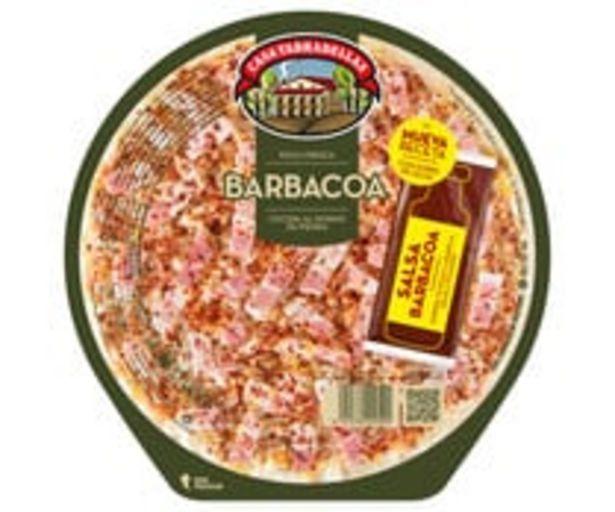 Oferta de Pizza fresca de carne asada a la barbacoa, cocida al hono de piedraCASA TARRADELLAS 430 g. por 2,47€