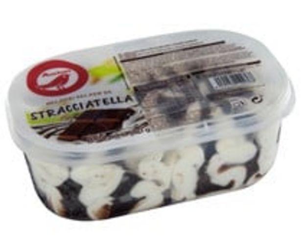 Oferta de Tarrina de helado de stracciatella PRODUCTO ALCAMPO 850 ml. por 2,14€