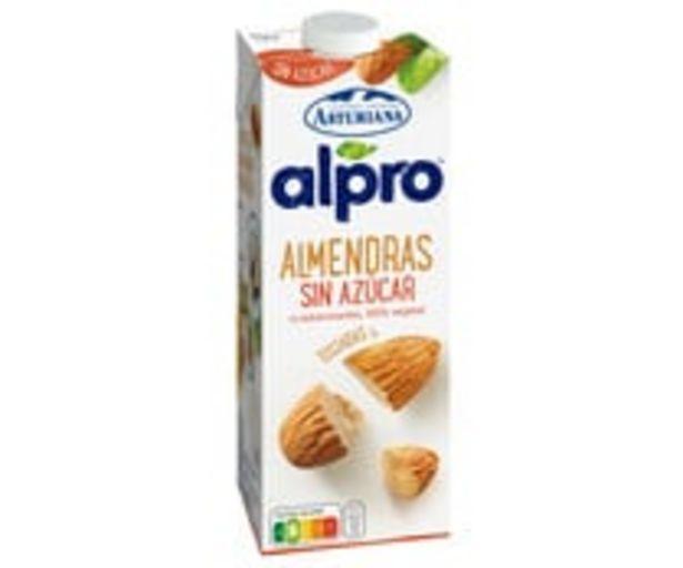Oferta de Bebida de almendras UHT sin azúcar ni edulcorantes ALPRO 1 l. por 1,85€