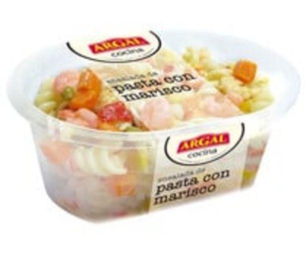 Oferta de Ensalada de pasta con marisco ARGAL 200 g. por 1,9€