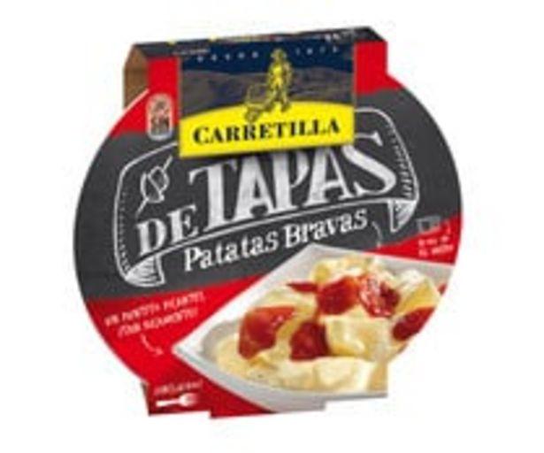 Oferta de Tapas de patatas bravas CARRETILLA 280 g. por 1,9€