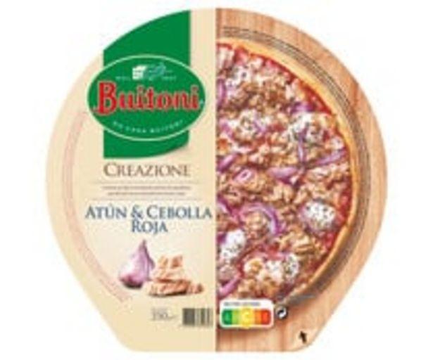 Oferta de Pizza congelada de atún y cebolla roja BUITONI Creazione 350 g. por 4,49€
