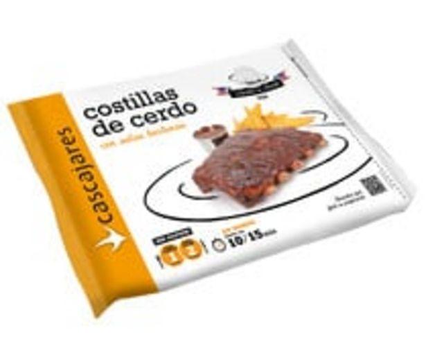 Oferta de Costillas de cerdo con salsa barbacoa CASCAJARES Recetas del mundo 550 g. por 5,63€