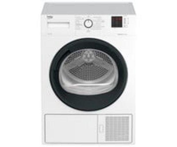 Oferta de Secadora por condensación con bomba de calor BEKO DHS 8312 GA0 capacidad de secado: 8KG, A+, H: 84,6cm, A: 59,7cm, F: 56,8cm. por 449€