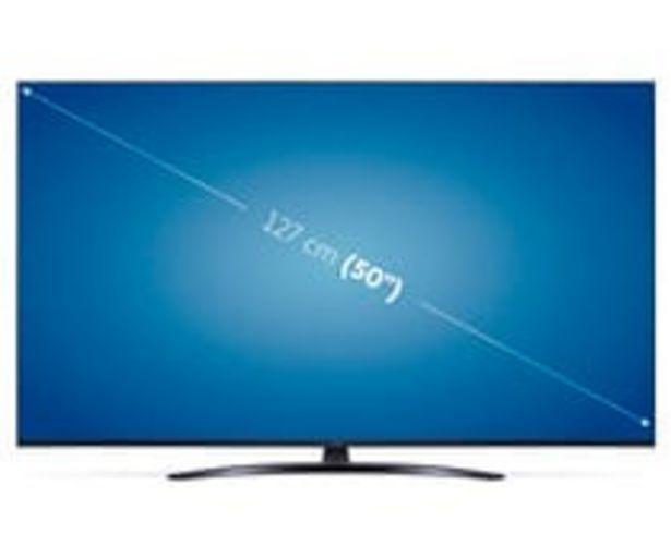 """Oferta de Televisión 127 cm (50"""") LED LG 50UP81006 4K, HDR 10, SMART TV, WIFI, BLUETOOTH, TDT T2, USB reproductor, y grabador 2HDMI, 1600HZ. por 515€"""