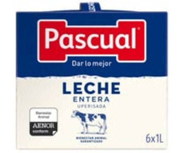 Oferta de Leche  entera procedente de animales con bienestar garantizado PASCUAL 6x 1l. por 5,28€