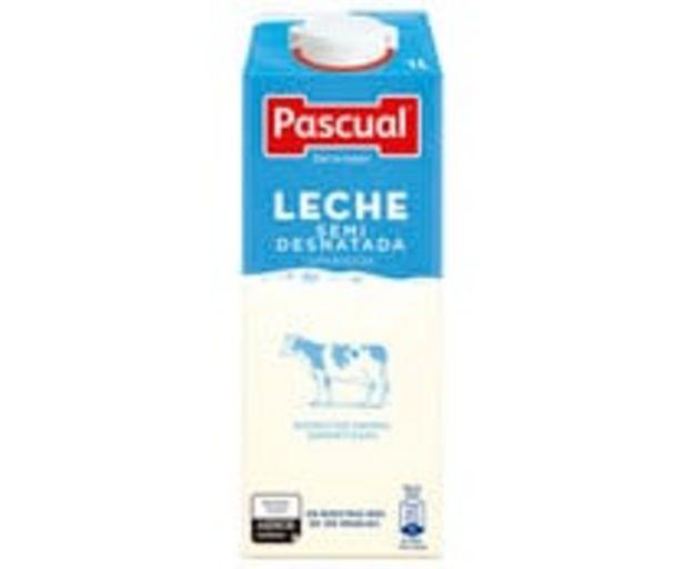 Oferta de Leche  semidesnatada PASCUAL 1 l. por 0,88€
