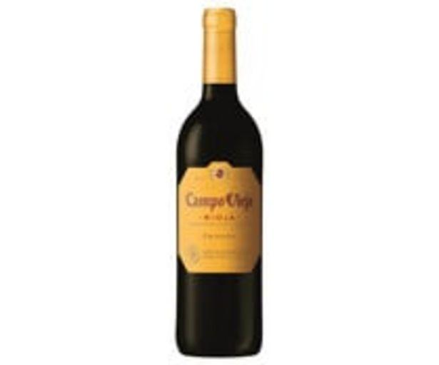Oferta de Vino tinto crianza con denominación de origen Rioja CAMPO VIEJO botella de 75 cl. por 3,94€