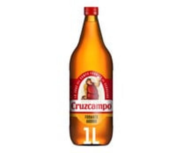 Oferta de Cerveza CRUZCAMPO 1 l. por 0,99€