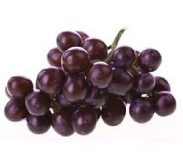 Oferta de Uvas rojas sin pepitas ALCAMPO PRODUCCIÓN CONTROLADA 500 g por 1,49€