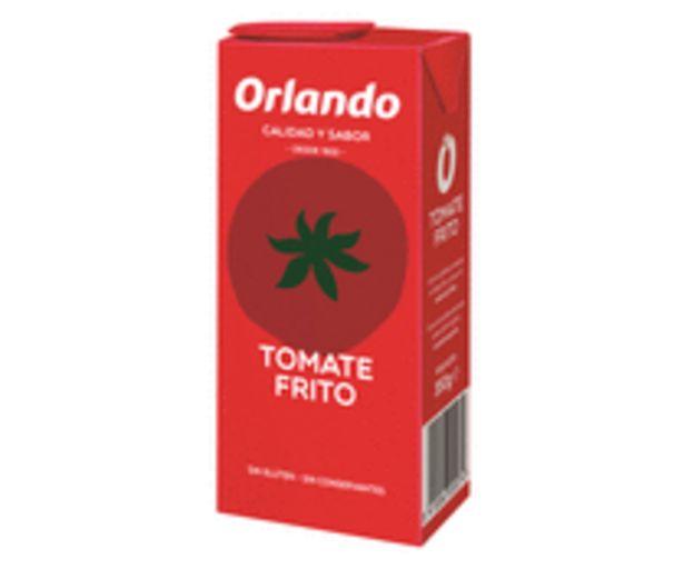 Oferta de Tomate frito ORLANDO brik de 350 g. por 0,52€