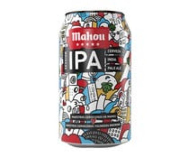 Oferta de Cerveza IPA MAHOU 5 ESTRELLAS 33 cl por 0,69€