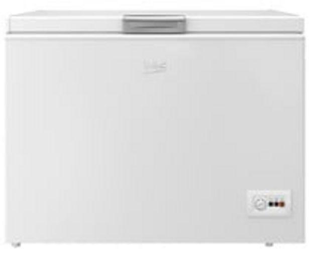 Oferta de Arcón congelador BEKO HSA-32530N, clasificación energética: F, H: 86cm,A: 110,5cm, F: 67,5cm, capacidad total: 315L. por 339€