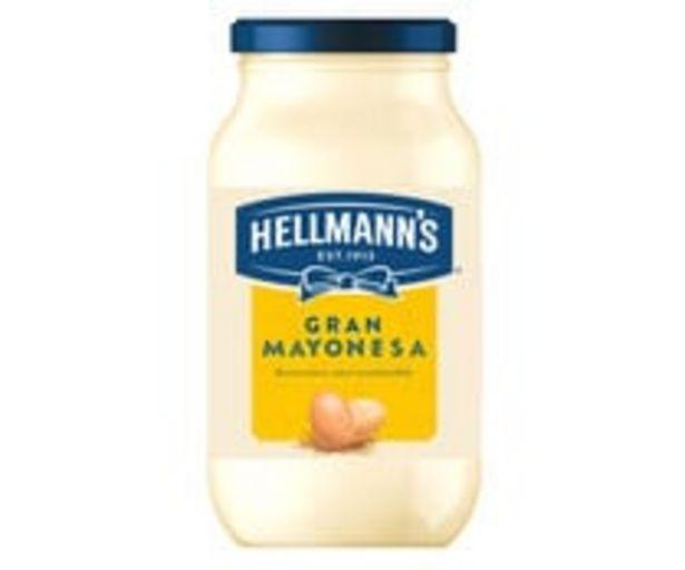 Oferta de Mayonesa HELLMANN'S 440 +10 ml. por 2,51€