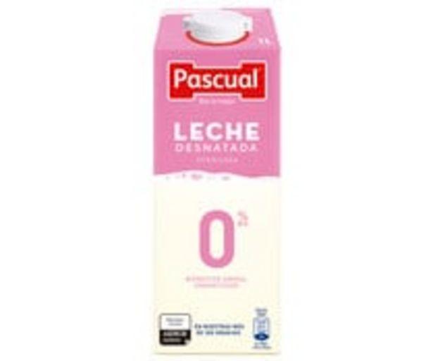 Oferta de Leche desnatada PASCUAL 1 l. por 0,88€