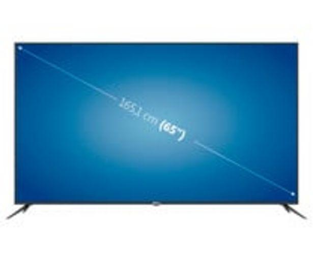 """Oferta de Televisión 165,1 cm (65"""") LED QILIVE 65UA211B 4K, SMART TV, WIFI, TDT T2, USB reproductor, 3HDMI, 60HZ. por 649€"""