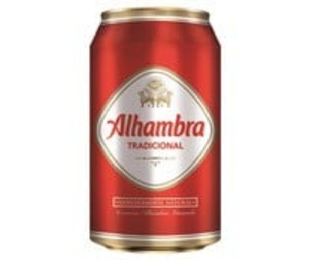 Oferta de Cerveza ALHAMBRA PREMIUM LAGER lata de 33 cl. por 0,59€